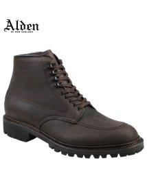 ALDEN/ALDEN オールデン インディー ブーツ メンズ KUDU INDY BOOT HIGH TOP BLUCHER Dワイズ 404/503014870