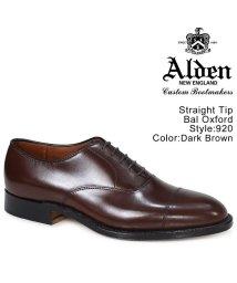ALDEN/ALDEN オールデン オックスフォード シューズ メンズ STRAIGHT TIP BAL OXFORD Dワイズ 920/503014877