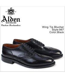ALDEN/ALDEN オールデン ウィングチップ シューズ メンズ WING TIP BLUCHER Dワイズ 967/503014884
