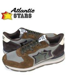 AtlanticSTARS/アトランティックスターズ Atlantic STARS アンタレス スニーカー メンズ ANTARES BMM 64N ブラウン/503015006