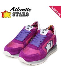 AtlanticSTARS/アトランティックスターズ Atlantic STARS ジェンマ スニーカー レディース GEMMA CFG-63VI ピンク パープル/503015021