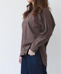 aquagarage/ビッグシルエットシャツ/503015811