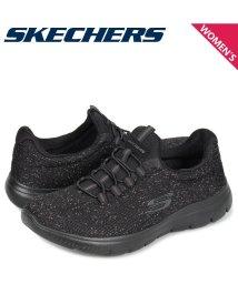 SKECHERS/スケッチャーズ SKECHERS サミット スニーカー レディース SUMMITS LOVELY SKY ブラック 黒 12987/503017900
