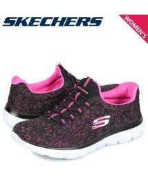 SKECHERS/スケッチャーズ SKECHERS サミット スニーカー レディース SUMMITS LOVELY SKY ブラック 黒 12987/503017901