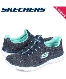 SKECHERS/スケッチャーズ SKECHERS サミット スニーカー レディース SUMMITS LOVELY SKY ネイビー 12987/503017902