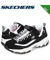 SKECHERS/スケッチャーズ SKECHERS ディライト クラウドアピール スニーカー キッズ ディーライト D LITES CROWD APPEAL ブラック 黒 805/503017981