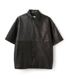 GARDEN/whowhat/フーワット/leather s/s jkt/レザーショーツスリーブジャケット/503019038
