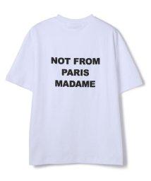 GARDEN/DROLE DE MONSIEUR /ドロール ド ムッシュ/Backprint NFPM Tee/バックプリントティー<br>/503019043