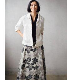 JIYU-KU /【マガジン掲載】SAKURA ジャカード リバーシブルスカート(検索番号E42)/503019103