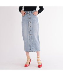 Levi's/BUTTON FRONT MIDI SKIRT BLUE CELL/503019180