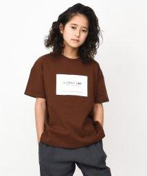 GLORIES LINE/ボックスロゴビッグTシャツ/503020130