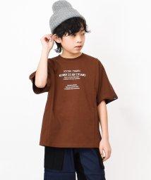 GLORIES LINE/切替ビッグTシャツ/503020132