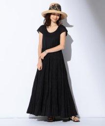 Demi-Luxe BEAMS/【WEB限定】MARIHA / 草原の虹 ショートスリーブワンピース/503021757