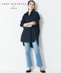 NIJYUSANKU/【中村アンさんコラボ】Cancliniシルエット シャツ(番号F83)/503022274