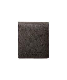 KABANNOSELECTION/キャサリンハムネット ウェーブ 二つ折り財布 革 型押しレザー 490-57302/502476344
