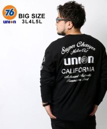MARUKAWA/【76Lubricants】セブンティーシックス 大きいサイズ ユニオン 袖プリント 長袖Tシャツ/502611806