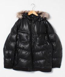 MARUKAWA/【LOUIS CHAVLON】大きいサイズ ストレッチPU中綿ブルゾン/502748209