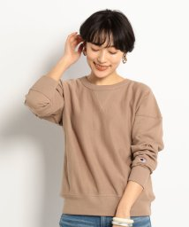 Doux archives /REVERSE WEAVE CREW NECK SWEATSHIRT/502954861