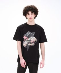 LOVELESS MENS/【Education from Youngmachines】コラージュプリント Tシャツ/502967447