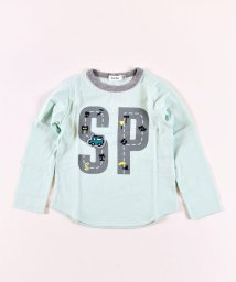 SLAP SLIP/天竺道路ロゴプリントTシャツ/502970977