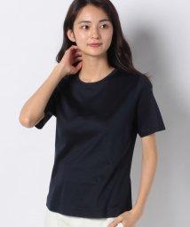 Leilian PLUS HOUSE/無地Tシャツ/502981850