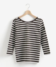 le.coeur blanc/Le minor バックVネックボーダーTシャツ/502987331