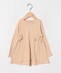 petit main/サイドギャザーTシャツ/502991293