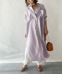 EMMEL REFINES/SMF VIS ロングシャツ ワンピース/503005791