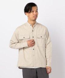GLOSTER/【unfil / アンフィル】band collar  バンドカラーシャツ #WZSP-UM232/503011238