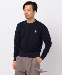 GLOSTER/Snoopy / スヌーピー チャリ刺しゅうスウェット/503011250
