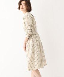 AG by aquagirl/【洗える/Lサイズあり】ストライプシャツワンピース/503023894