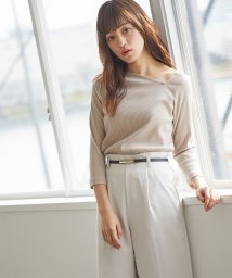 Honeys/アシメネックTシャツ/503024210