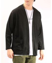 TopIsm/3点セット/格子膨れジャガード素材カーディガンと半袖Tシャツとチョーカー/503024220