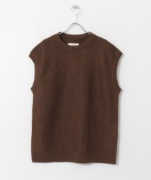URBAN RESEARCH DOORS/unfil french linen knit vest/503024536