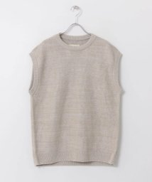 URBAN RESEARCH DOORS/unfil french linen knit vest/503024536