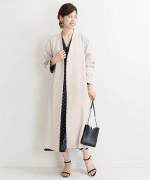 VERMEIL par iena/ダブルクロスノーカラーコート◆/503024545