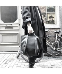 PATRICK STEPHAN/Leather small tote 'loop handle'/502999274