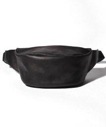 PATRICK STEPHAN/Leather waist bag 'demi cercle' 19/502999275