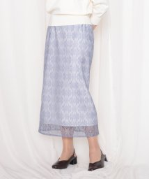 Cheek/レースロングタイトスカート/503005119
