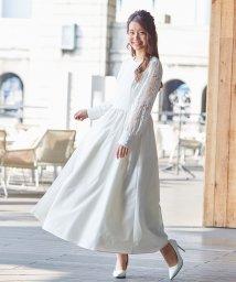 form forma/【kaene】バックパールデザインロングウェディングドレス/503009409