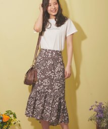 Noela/フラワーマーメイドスカート/503010247