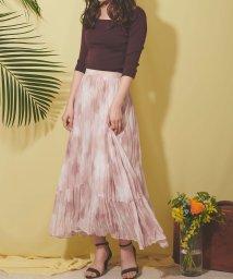 Noela/【美人百花6月号掲載】ワッシャータイダイスカート/503010252
