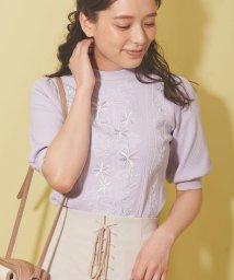 Noela/フラワー刺繍ニット /503010257