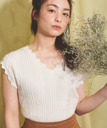 Noela/【Ray9月号掲載】変形リブニット /503010260