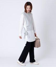 LASUD/[MIREPOIX] レイヤードニット×シャツセット/503019412