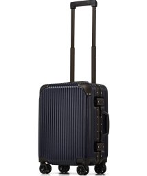 tavivako/[PROEVO/プロエボ] スーツケース フレームキャリー S 機内持込可 サスペンション搭載 ブレーキ機能付き 静音 ダブルキャスター 8輪 軽量 TSAロッ/503025311