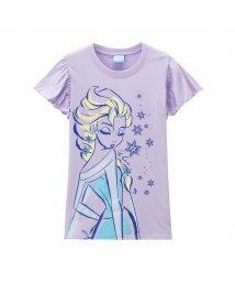 MAC HOUSE(kid's)/Disney ディズニー ガールズ アナと雪の女王Tシャツ 326237096/503026296