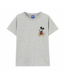 MAC HOUSE(kid's)/Disney ディズニー ボーイズ 刺繍ミッキーTシャツ 326107085/503026297