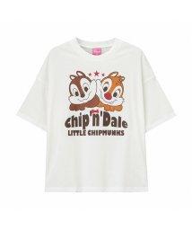 MAC HOUSE(kid's)/Disney ディズニー ガールズ チップとデールビッグTシャツ 326107091/503026300
