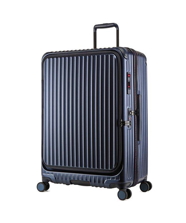 カバンのセレクション カーゴ エアレイヤー スーツケース LLサイズ 100L フロントオープン ストッパー付き 軽量 CARGO cat738ly ユニセックス ブルー フリー 【Bag & Luggage SELECTION】